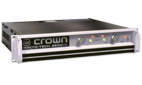 Professional Audio AMP CROWN MA-3600VZ Macro-Tech Series Power Amplifier 1800W-2 Ohms, 1565W-4 Ohms(China (Mainland))