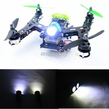 4Pcs FPV Night Flying RC LED Super Bright Lights 3W Searchlight Drone RC Light For Racing QAV250 ZMR250 Quadcopter Drone