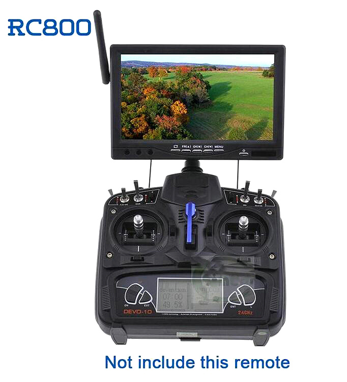 Здесь можно купить  Skyzone RC800 fpv7 32-inch monitor displays video frequency receiving MFP  Игрушки и Хобби