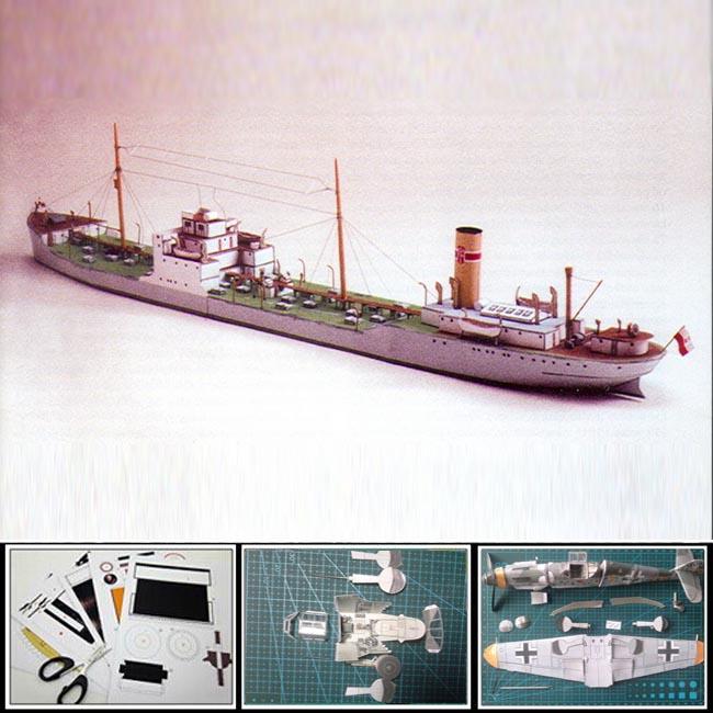 paper model ships