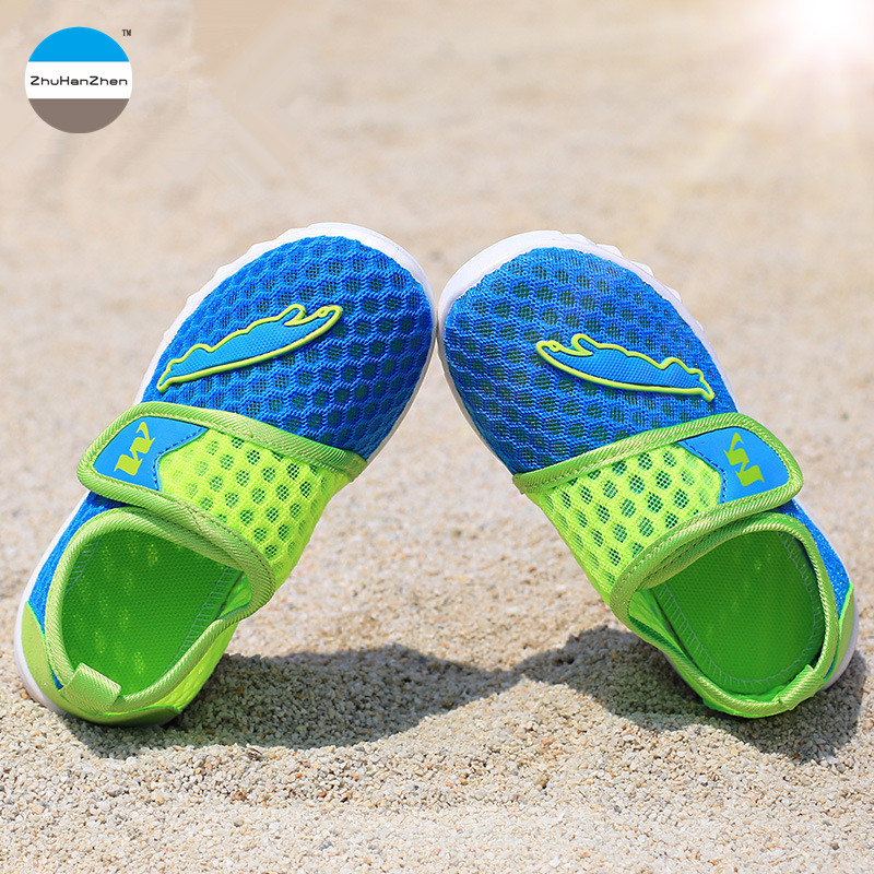 2017 summer children casual shoes 2 - 8 years old boys girls sports shoes breathable kids sneakers high quality brand mesh shoes