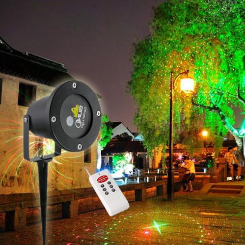 8 in 1 single red green landscape outdoor laser light show projector waterproof garden laser - Outdoor laser light show ...