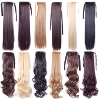Hair13 Color Blonde/black Perruque Harajuku Straight Natural False Hair Wig Costume Synthetic Hair Clip In Wigs