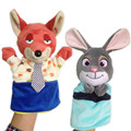 NEW Children Zootopia Hand Puppet Toys Novelty Cute Hand Glove Puppet Judy Hopps Nick Wilde Finger