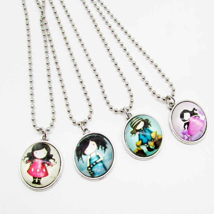 40pcs 2015 Hot mix Charm TIME GEM BT Girls Glass beads pendant necklace Jewelry Fans Gift Wholesale Free shipping<br><br>Aliexpress