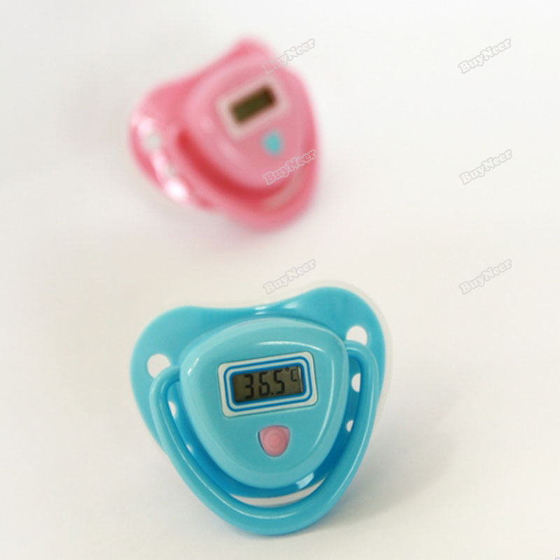 buyneer cheap! Digital LCD Infant Baby Temperature Nipple Thermometer Fabulous!(China (Mainland))