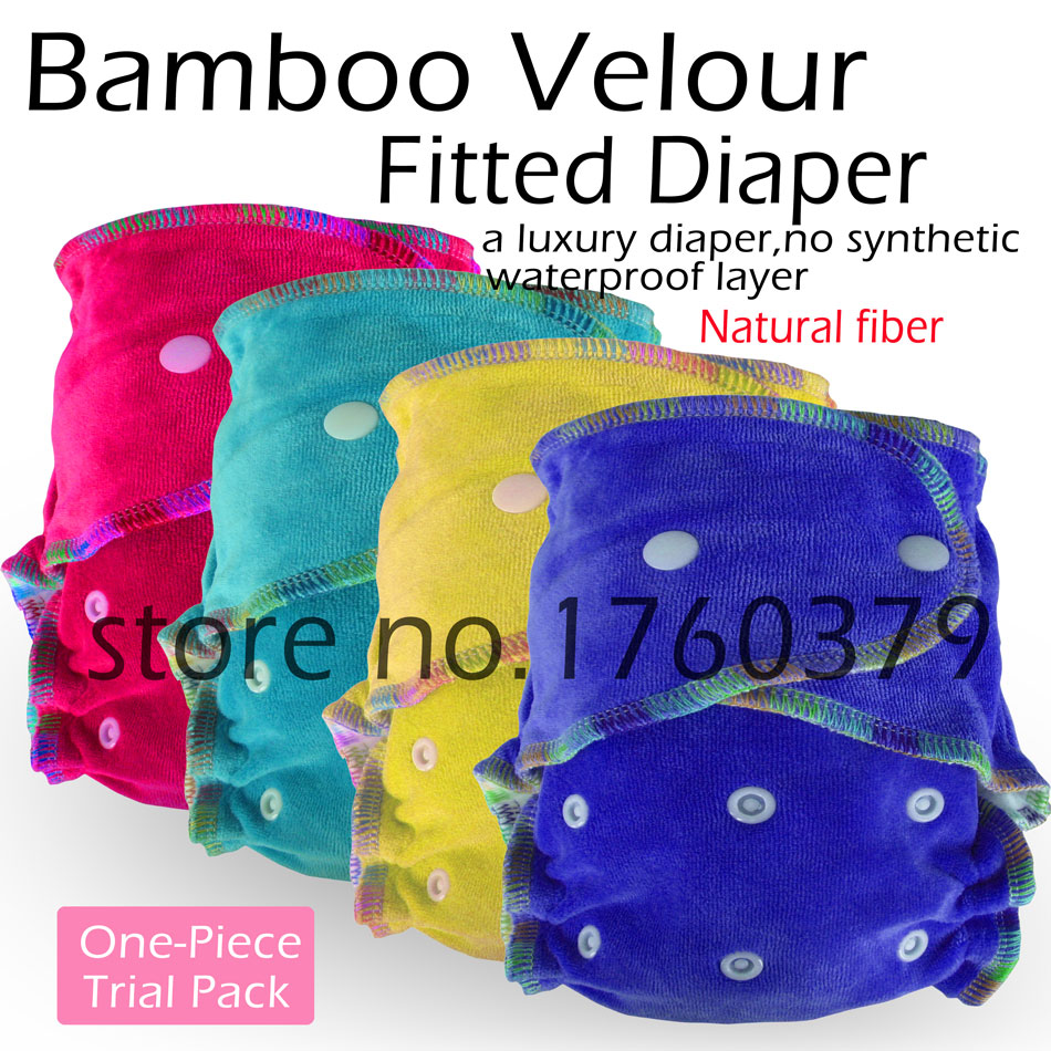 bamboo velour cloth diaper, fitted cloth diaper, fit baby 3-15kgs, 100% natural fiber, breathable and high absorbent<br><br>Aliexpress