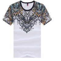 2016 new 100% quality cotton, T-shirts short-sleeved summer Tops Mens famous brand design Tees Mens Causal F01 JMS