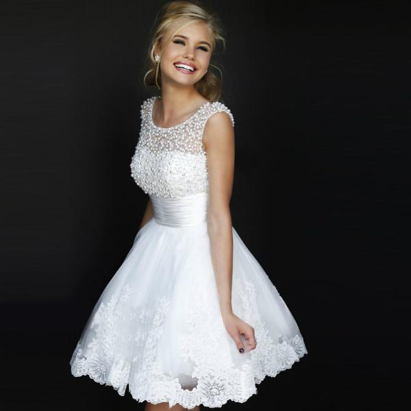 Ivory Party Dresses - Ocodea.com