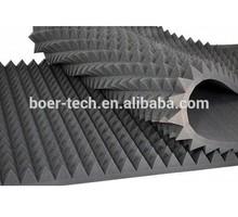 20 шт. 50 * 50 * 5 см серый пирамида студия звукоизоляцией губка пена ролл