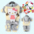 1 Set 2015 Retail children clothing sets, hello kitty girl clothing set, hoodie+pant, velvet, for autumn/spring, Free shipping