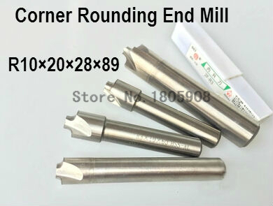 Free Shipping - 1pcs New 4F Corner Rounding End Mill R10.0 Endmill Tool Milling Cutter ,R10.0*20*28*89mm(China (Mainland))