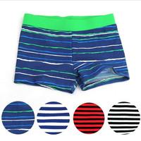Fashion Baby Boy Swimming Trunks kids boys shorts boys Swim Wear Spripe Ocean Style For 2-8Y Children Boys Swimsuit