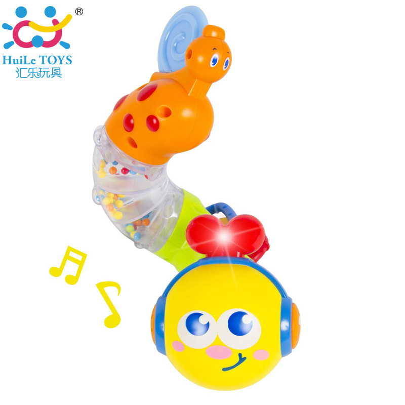 New Electronic Musical Insert Puzzle Kids Educational Toy Children Fingers Flexible Training Science Flashing Twisting Worm Toys(China (Mainland))