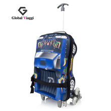 "Free shipping GV quality fashion trolley luggage travel bag luggage stylish EVA water-proof check box  17""(China (Mainland))"