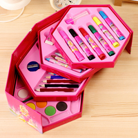 SCM Fashion Creative Colored Pencil Korea Cute Watercolors Crayon Pen for Children Stationery Christmas Gift Free Shipping