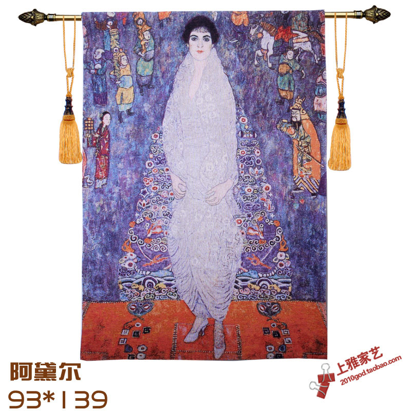93x139cm Belgian Hanging Tapestry Gobelin Art Cotton Decorative Wall Tapestries Moroccan Decor Painting French Tapestries(China (Mainland))