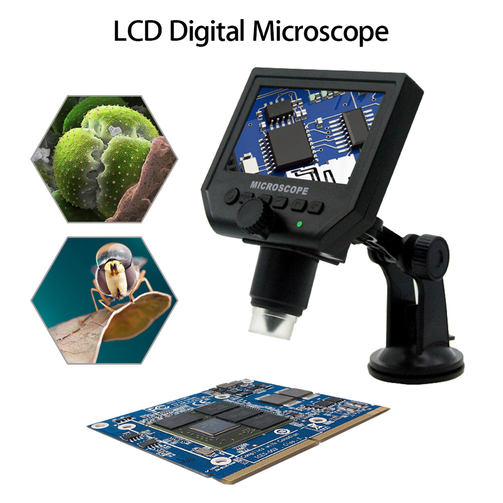 BOBLOV G600 Digital Microscope Camera 1-600X 4.3