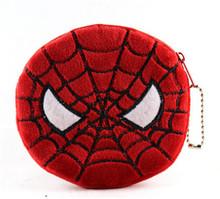 2015 New Cute Portable Cartoon Bag Change Coin Purse Case Plush Purse Handbag Lady Girl Wallet