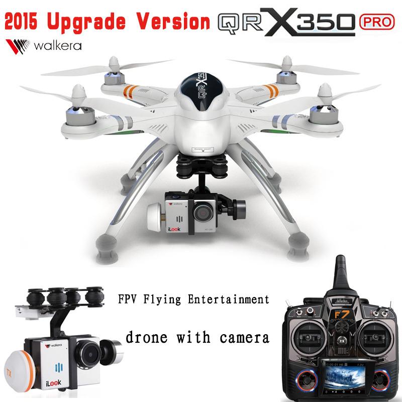 2014 Upgrade Version WALKERA QR X350 Pro GPS Drone 6CH Brushless UFO DEVO F7