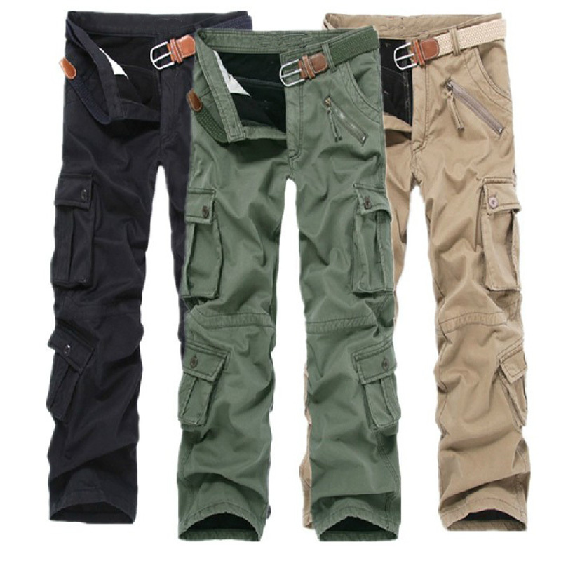 Thicken pants Winter Double Layer Warm Cargo Pants Fleece lined outdoor Camouflage Pants Sports Outdoor Pants Overalls Trousers(China (Mainland))