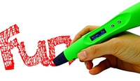 Kids Christmas Gift Toy Myriwell 3D Printing Pen OLED Screen V3