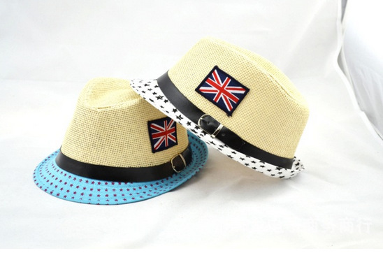 The new American flag in spring and summer child hat children jazz cap hat wholesale Korean children boys(China (Mainland))