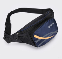 New Fashion Fanny Packs Hiking Running Canvas Waist Pack Hip Packs Outdoor Sport Belt Bag Phone Money Pouch Chest Bag