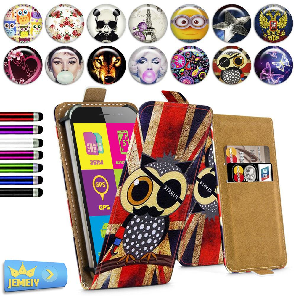 For Explay Hit Infinity Light Onyx Universal High Quality Printed Flip PU Leather Cell Phones Case Cover Small Size(China (Mainland))
