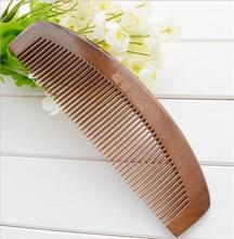 Natural Sandalwood Comb cepillo de pelo Large Wide Tooth No static Massage Hair Brush Health care