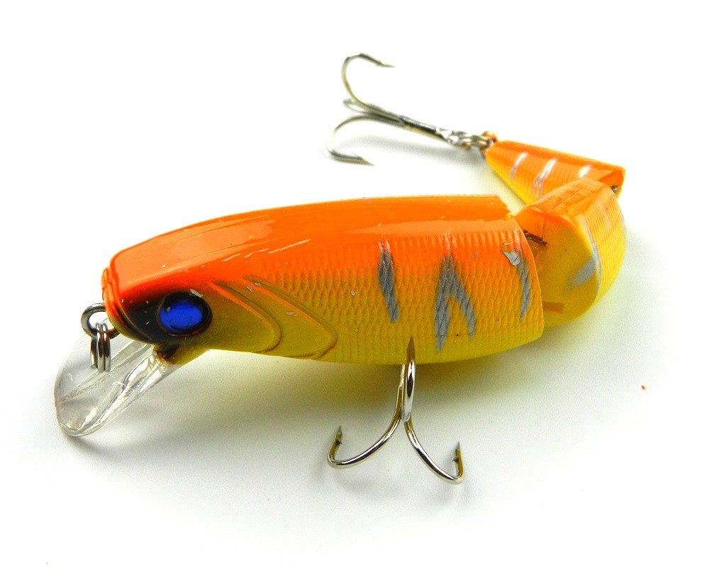 Crankbait hard bait tight wobble slow floating jerkbait for Airbrushing fishing lures