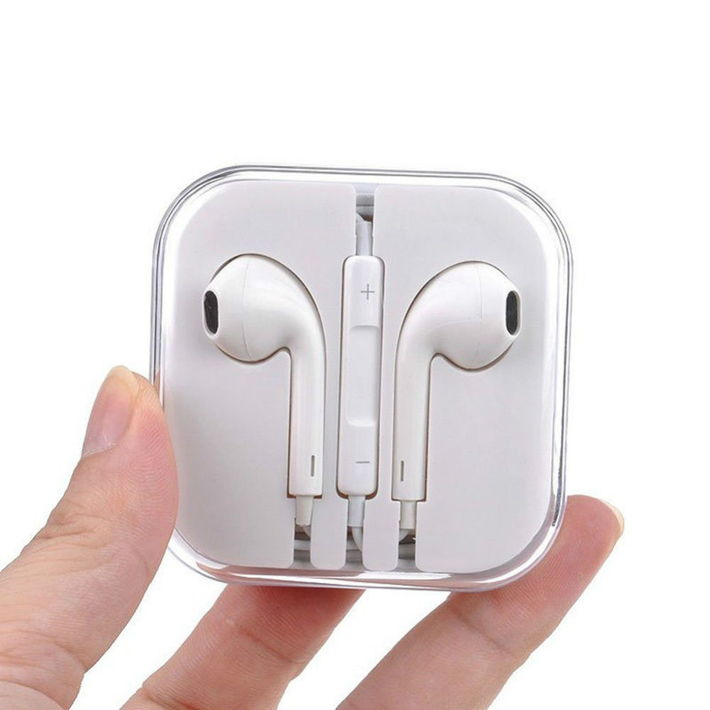 100% Original New Earphones For iPhone 6 fone de ouvido Auriculares Headphones For iPhone 4 4s 5 5s 5c Headset Earbuds For iPad(China (Mainland))