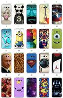 2015 eiffel tower tiger putin despicable me cartoon white hard back case for Samsung Galaxy Core 2 G355H/G3559 + free shipping