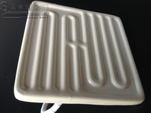 Ceramic Infrared panel heater emitter embedded ceramic heating plate, heating plate ceramic 120 * 120 infrared heating 500W(China (Mainland))