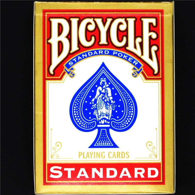 карты игральные bicycle prestige rider back цвет красный 54 шт Игральные карты Bicycle 1 B1