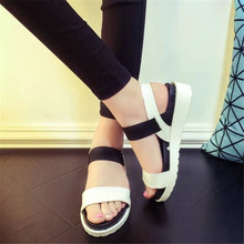 Hot Selling sandals women Summer shoes woman 2016 peep-toe flat Shoes Roman sandals Women sandals sandalias mujer sandalias X278