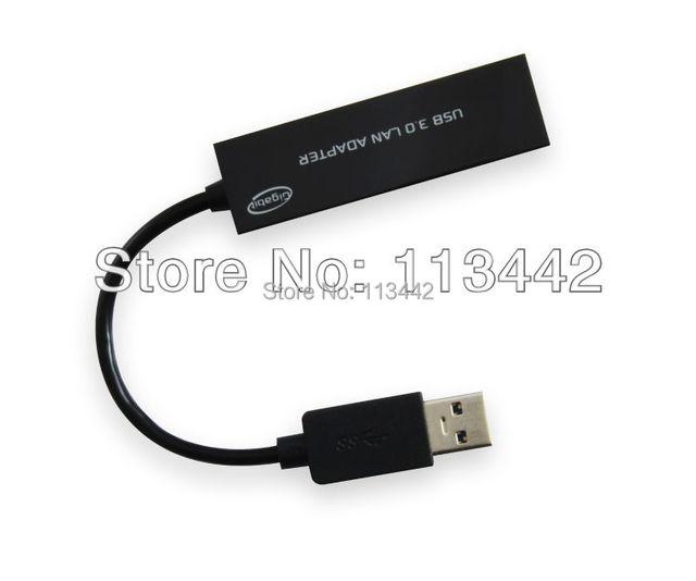Lastest  USB 3.0 Super Speed 10/100/1000Mbps Gigabit Ethernet RJ45 External Network Card Lan Adapter Hot sale