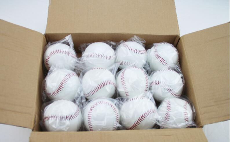 Wholesale 9 inch Top quality PU Soft Baseball Exercise Throwing Softball Training Solid ball(China (Mainland))