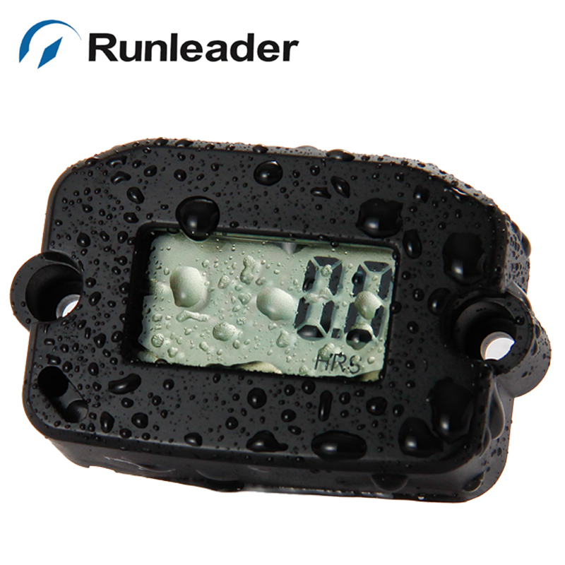 Record Max Rpm hour meter Digital Inductive Tach/Hour Meter for Motorcycle ATV Snowmobile and Boat Generator RL-HM022 10 cs/lot<br><br>Aliexpress