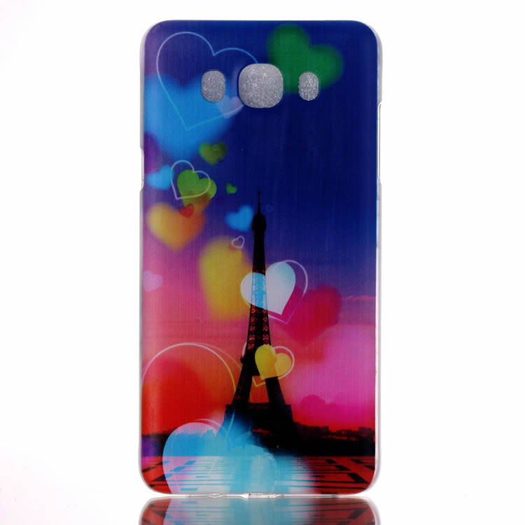 For Samsung Galaxy J5 J7 2016 Case Hard Plastic Colorful Flowers Lady Black Skull Smart Phone Covers for Samsung J710 20 Desgins(China (Mainland))