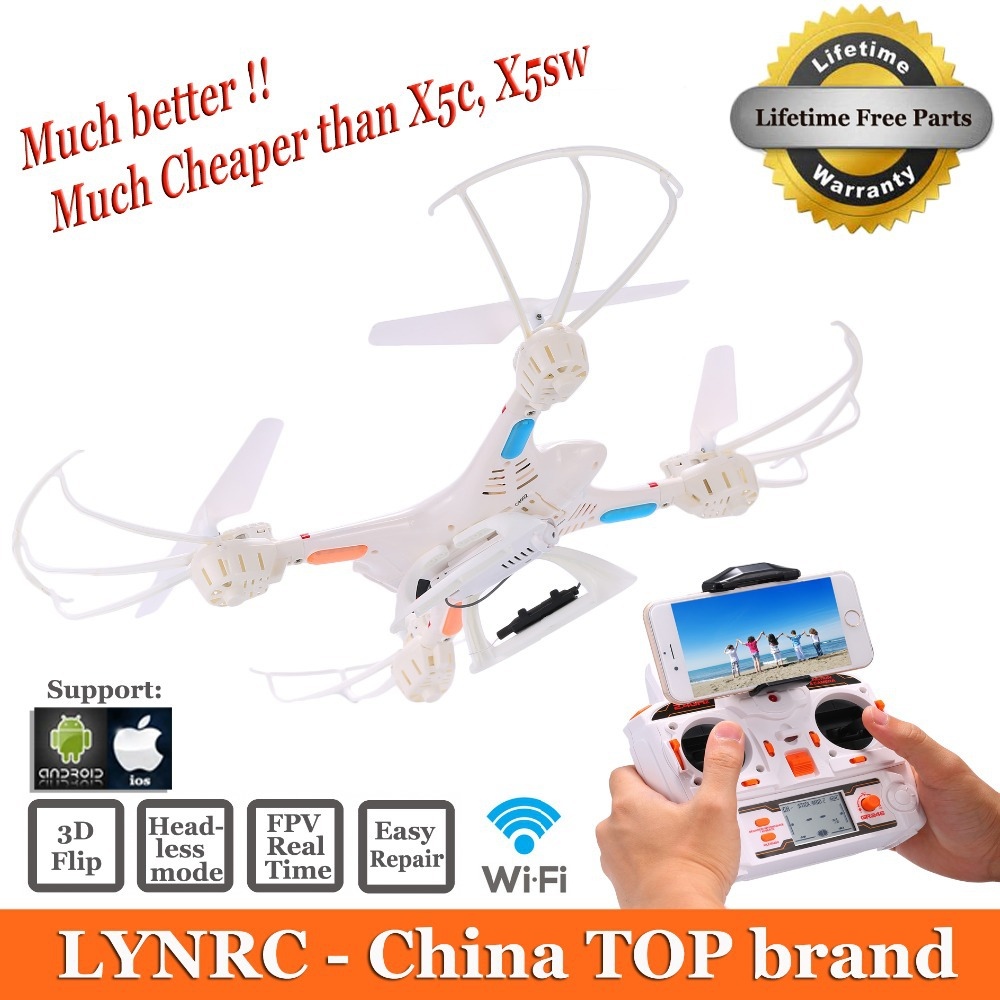 RC Helicopter Lynrc X400 1 Upgrade MJX X400 6 Axis GYRO Drone Quadcopter can add HD