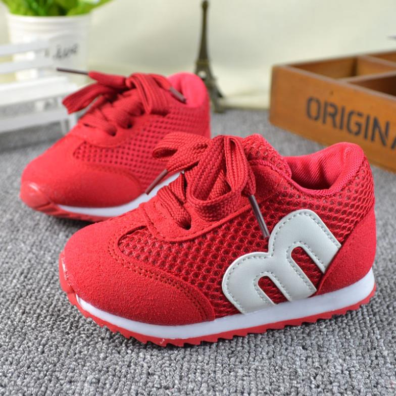 children spring autumn kids casual lae-up mesh letters candy color baby boys breathable sport shoes girls fashion sneakers 22-26(China (Mainland))