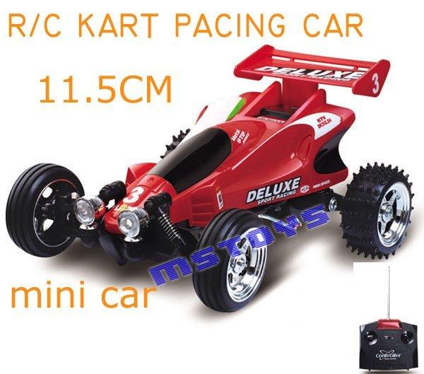 Mini toy kart pacing car 1:43 Radio Remote control RC Car