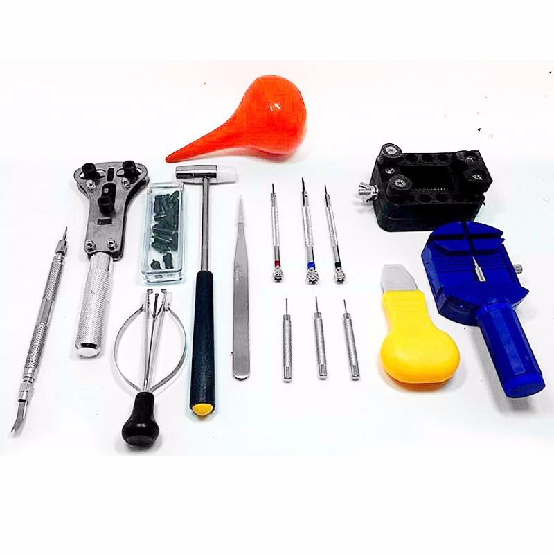 16PCs-Set-Professional-Watch-Repair-Tool-Kit-Portable-Watchmaker-Pin-Remover-Hammer-Pliers-Opener-Adjuster-Universal