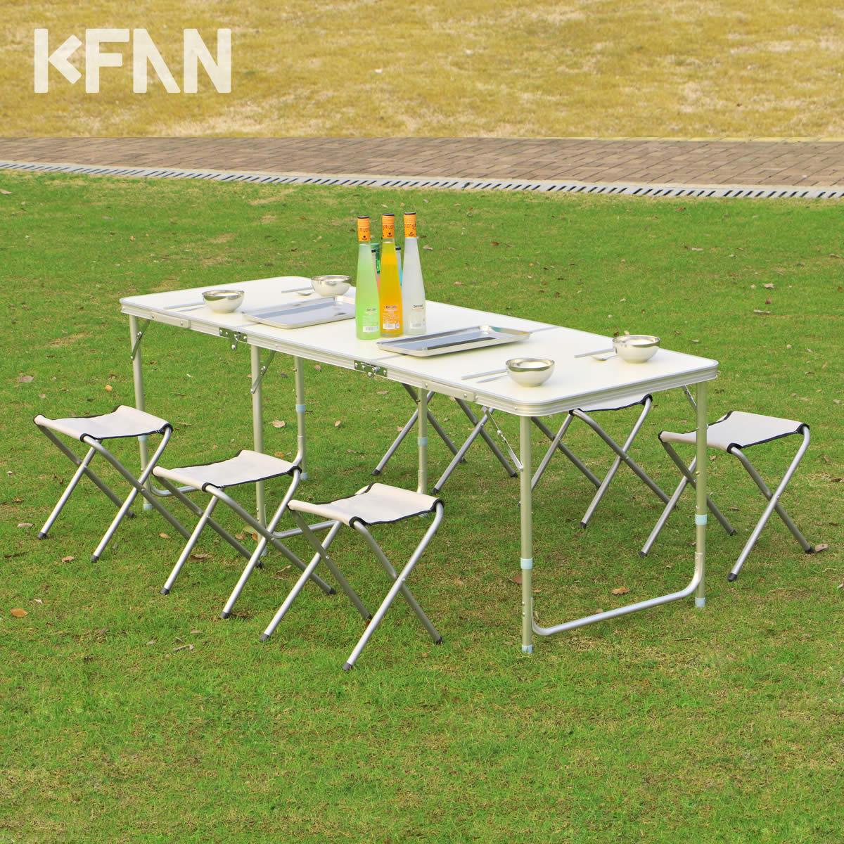 Столы и стулья для отдыха на природе