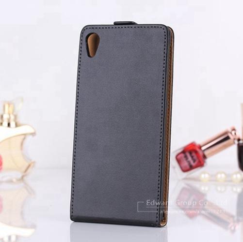 Hot Sale ! Luxury Genuine Leather Case for Sony Xperia Z1 Honami C6906 C6903 C6902 C6943 L39h Flip Mobile Phone Bag Cover 1 pcs(China (Mainland))