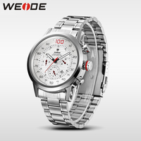 Limited! WEIDE Watches Men Military Quartz Sports Watch Luxury Brand Complete Calendar Famous Waterproof Original Free Shipping
