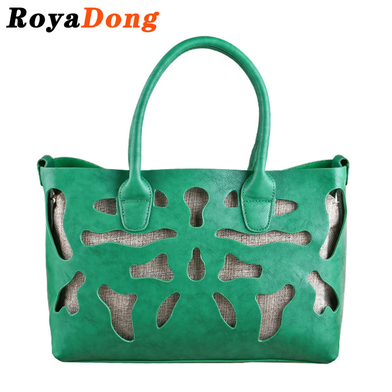 RoyaDong Women Leather Handbags Ladies Crossbody Shoulder Bags Women Tote  Designer Handbag Bag Famous Brand Luxury High Quality<br><br>Aliexpress