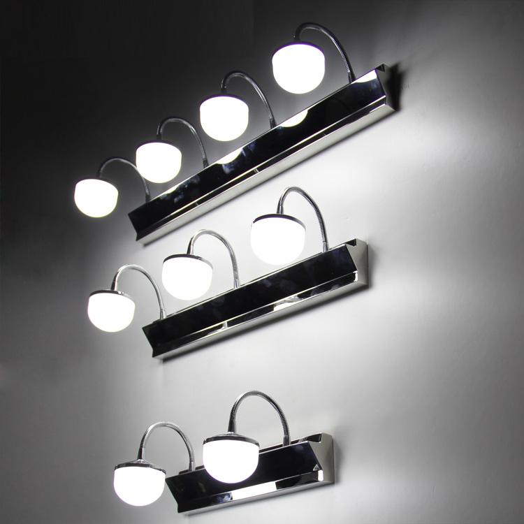Brief modern Led Mirror light microscopy cabinet lamp  waterproof anti-fog bathroom lamps <br><br>Aliexpress
