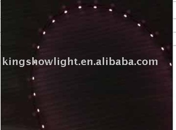 free shipping 850nm LED IR strip with 60 pcs IR 3528SMD nonwaterproof